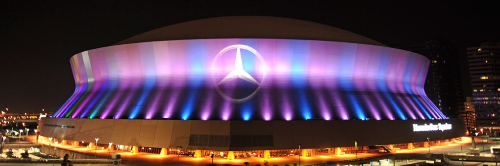 Contact us mercedes benz superdome for Mercedes benz dome seating chart