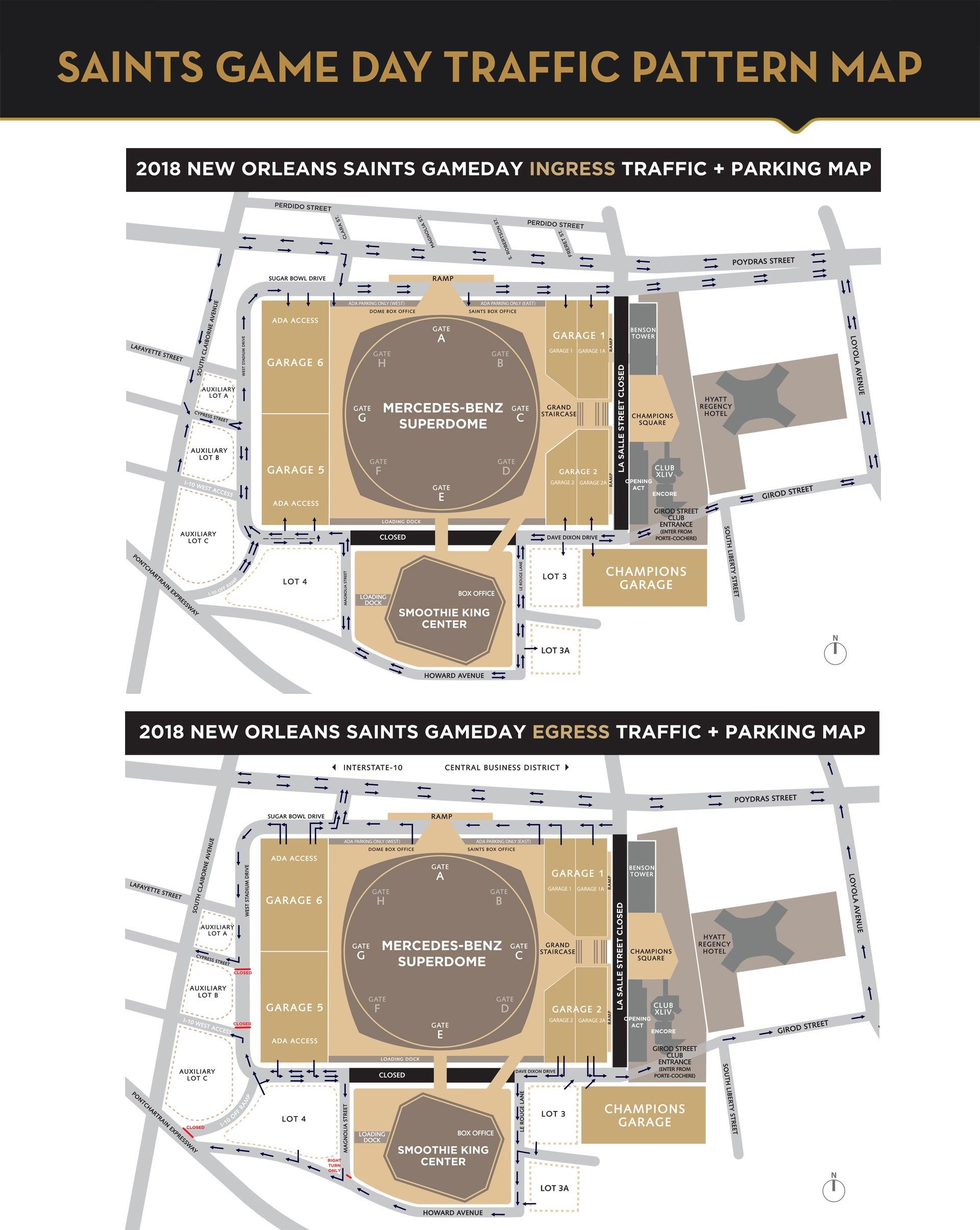 New Orleans Saints   Mercedes-Benz Superdome
