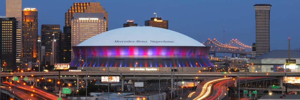 lsed mercedes benz superdome