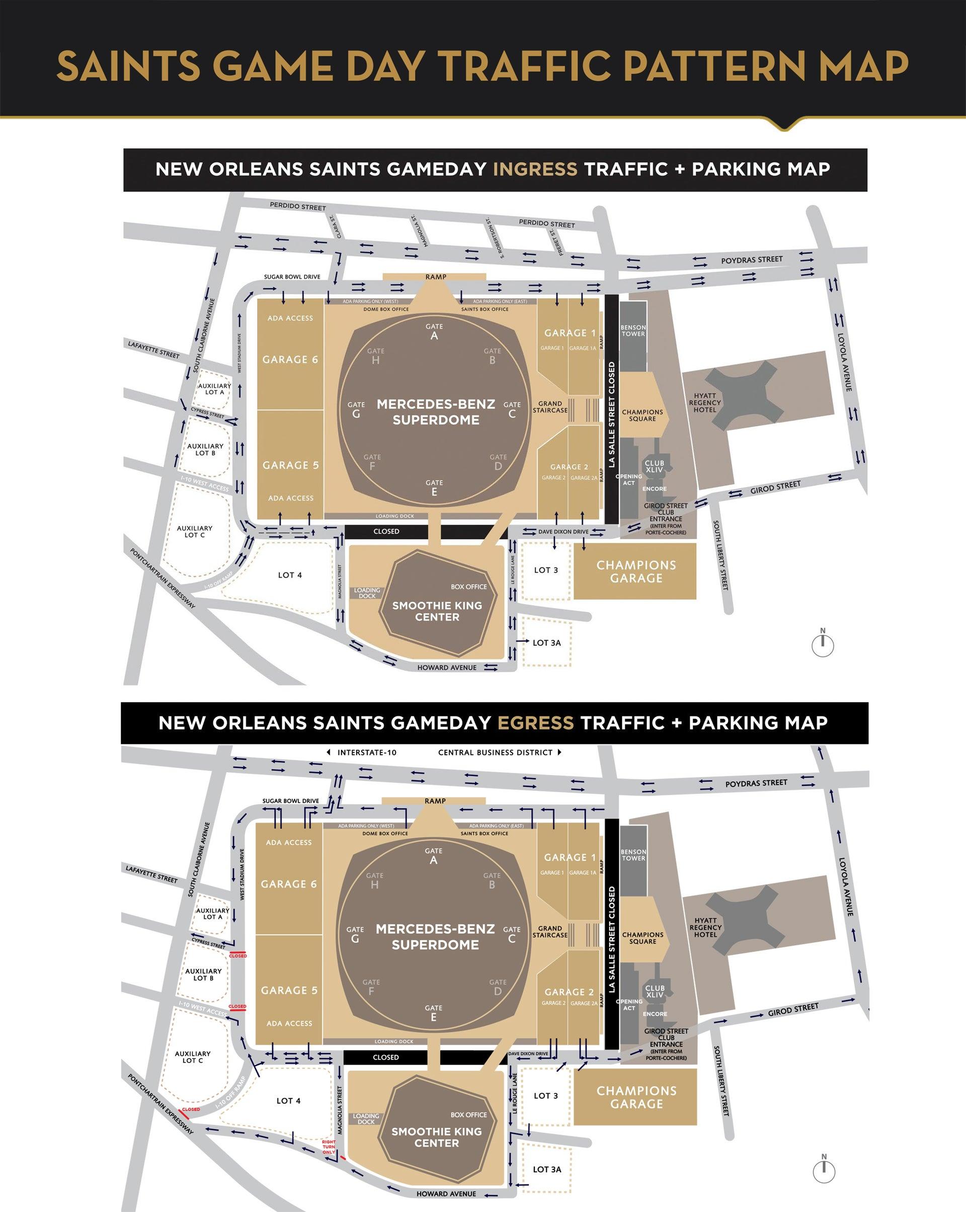 New orleans saints mercedes benz superdome for Mercedes benz superdome 3d seating chart
