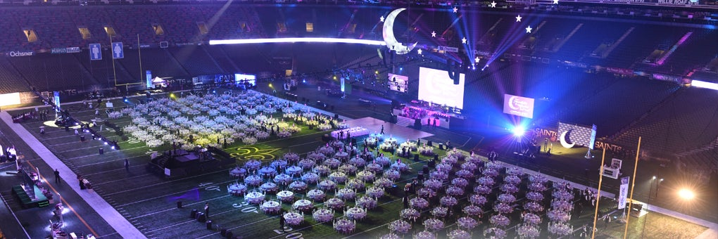 Special events mercedes benz superdome for Mercedes benz superdome parking prices